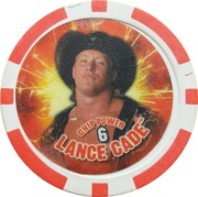 Token - WWE Power Poker Chip (Lance Cade) – obverse