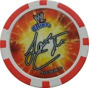Token - WWE Power Poker Chip (Lance Cade) – reverse
