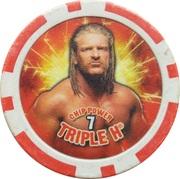 Token - WWE Power Poker Chip (Triple H) – obverse