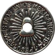 1 Peso Durango imitation – reverse