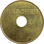 Car Wash Token - Kärcher (26 mm) – obverse
