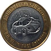 Car Wash Token - Esso (Castellamonte, Turin) – reverse