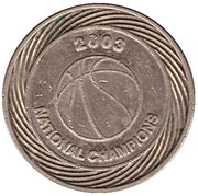 Car Wash Token - National Champions (Syracuse, New York) – obverse