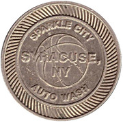 Car Wash Token - National Champions (Syracuse, New York) – reverse