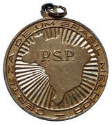 Presidential Campaign Medal - Adhemar de Barros – reverse