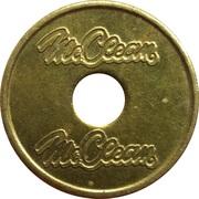 Car Wash Token - McClean – obverse