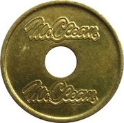 Car Wash Token - McClean – reverse