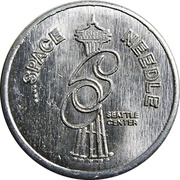 Medal - Two Hundred Freedom Years (Space Needle) – obverse