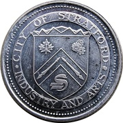 Stratford Dollar - City of Stratford (The Brooks Steamer) – obverse