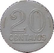 20 Centavos (Play money) – obverse