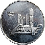 Token - Torex Coin World Sidney Ohio – obverse