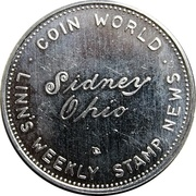 Token - Torex Coin World Sidney Ohio – reverse