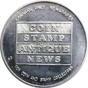 Token - Torex Coin Stamp Antique News – reverse