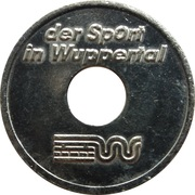 Token - Der Sport in Wuppertal – reverse