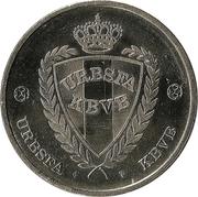 Token - URBSFA / KBVB (Michael Goossens) – reverse