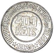 Token - 400 Reis Banco Paulista de Descontos – obverse
