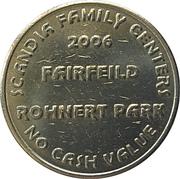 Token - Scandia Family Fun Center (Error) – reverse