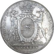 Token - Jean-Baptiste François de La Michodière (Paris) – reverse