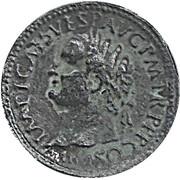 Replica - Roman Cultural Journey (Vespasian 69-79 AC) – obverse