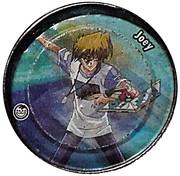 Elma Chips Token - Yu-Gi-Oh! Metal Tazos (Tazo #07: Joey) – obverse