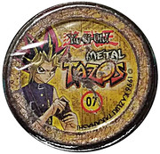 Elma Chips Token - Yu-Gi-Oh! Metal Tazos (Tazo #07: Joey) – reverse