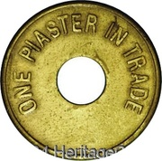 1 Piaster - Spinney & Sons – obverse