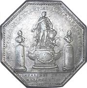 Token - Louis XV (Galeres royales, Invalides de La Marine) – reverse