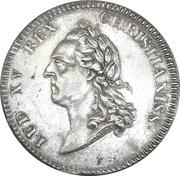 Token - Louis XV (Academie Royales de Marine) – obverse