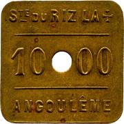 Token - 1000 Cahiers RizLa+ (Angoulême) – obverse