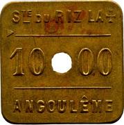 Token - 1000 Cahiers RizLa+ (Angoulême) – reverse
