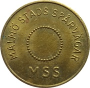Transport Token - Malmo (K) – obverse