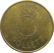 Transport Token - Malmo (K) – reverse