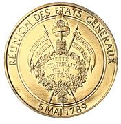 Token - L'Histoire de la Révolution Française (Réunion des états généraux) – reverse