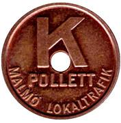 Token - Malmö Lokaltrafik (K) – obverse