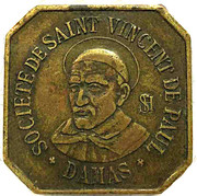 1 Dollar - Society of Saint Vincent de Paul – reverse