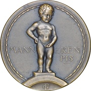 Token - Brussels International Exposition of 1935 (Bruxelles) – obverse