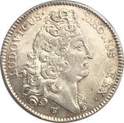 Token - Louis XIV (Galères royales; AQVILONVM DESPICIT IRAS) – obverse
