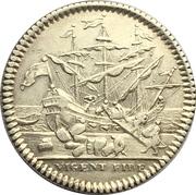 Token - Louis XV (Chamber of commerce of Bayonne) – reverse