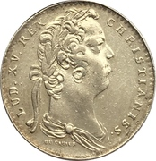 Token - Louis XV (Chamber of commerce of Bayonne) – obverse