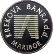 Token - Krekova Banka (Maribor) – reverse