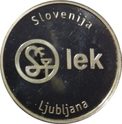 Token - Lek (Ljubljana) – reverse
