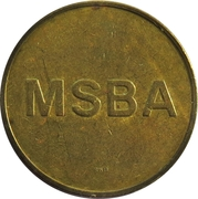 Token - MSBA (Freeport, New York) – reverse