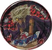Elma Chips Token - Yu-Gi-Oh! Metal Tazos (Tazo #06: Yami Marik) – obverse