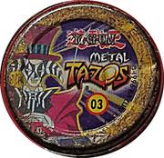 Elma Chips Token - Yu-Gi-Oh! Metal Tazos (Tazo #03: Seto Kaiba) – reverse