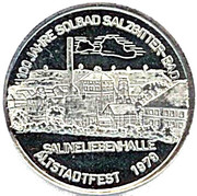 Token - 100 years brine bath Salzgitter-Bad – obverse