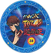 Elma Chips Token - Yu-Gi-Oh! Magic Tazos (Tazo #38: Furious Knight) – reverse