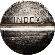 Token - Student restaurant Index (Maribor) – reverse