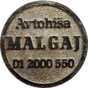 Car Wash Token - Avtohiša Malgaj (Ljubljana) – obverse