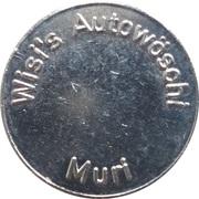Car Wash Token - Wisi's Autowöschi (Muri) – obverse