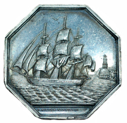 Token - Commitee of the maritime insurance company of Marseille – obverse